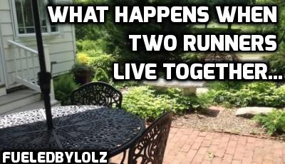 What Happens When two runners live together