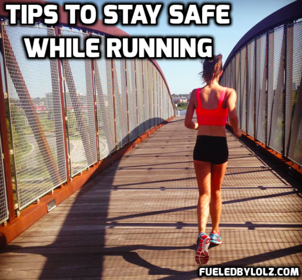 Tip to stay safe while running