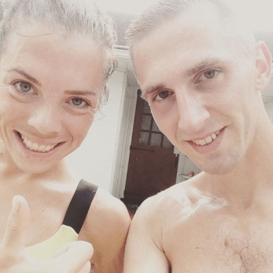 Post track workout: adorable...
