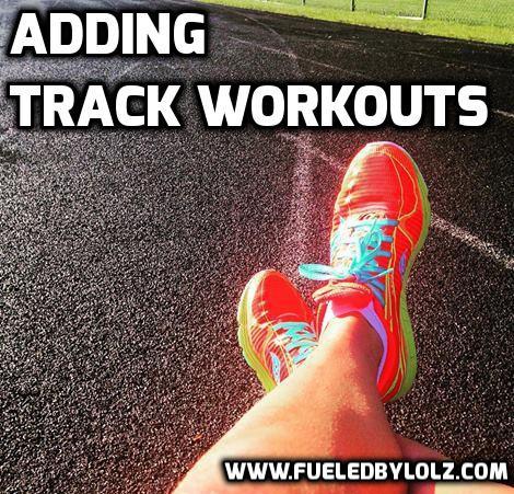 Adding Track Workouts