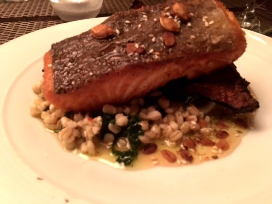 Salmon and Cous Cous