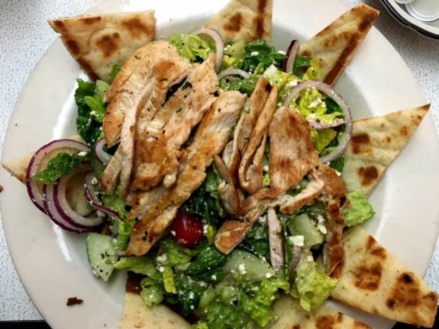 Broad Street diner salad