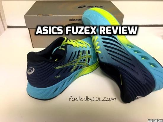Asics FuzeX shoe review