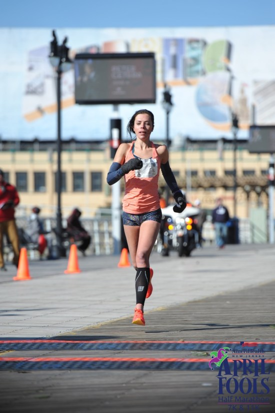 Last year at the April Fools Half in the 50 MPH wind