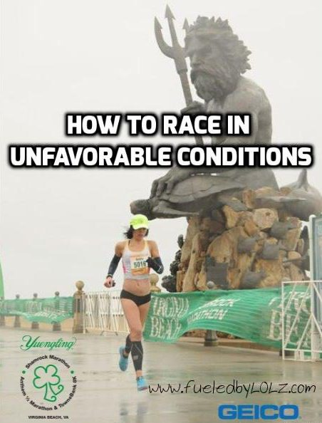 How to Race in Unfavorable Conditions