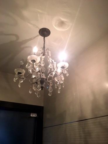 Millstone Diner chandalier