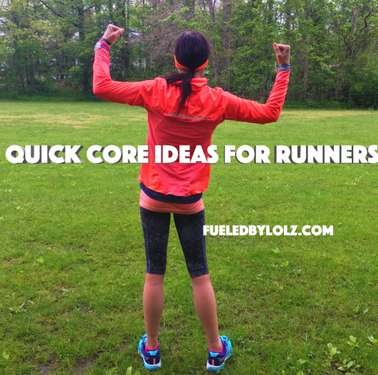Quick Core Ideas for Runners