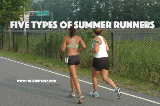 Five Types of Summer Runners