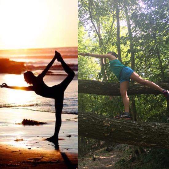 nature yoga meme