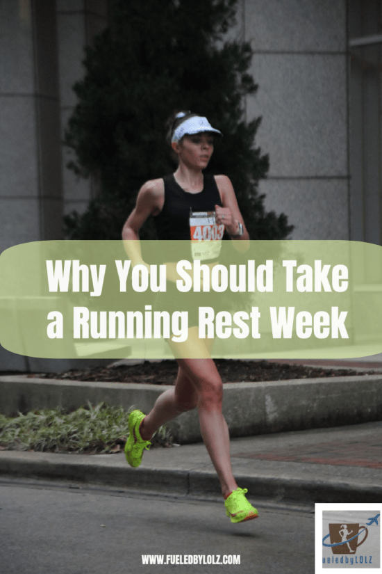 Why You Should Take a Running Rest Week