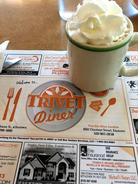 Trivet Diner coffee