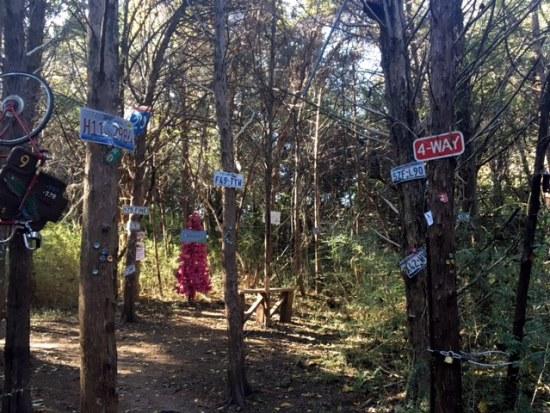 hiking dallas texas