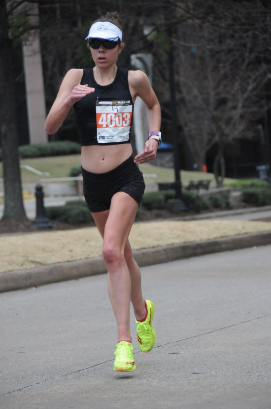 Run Mercedes Half Marathon me