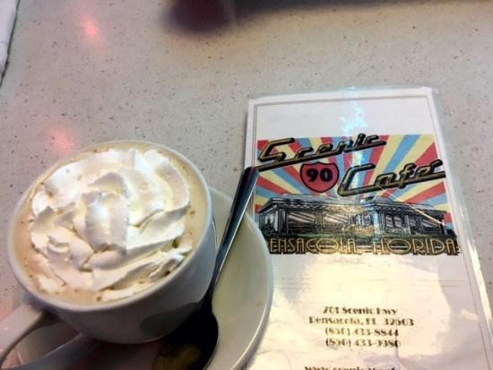 Scenic 90s cafe pensacola