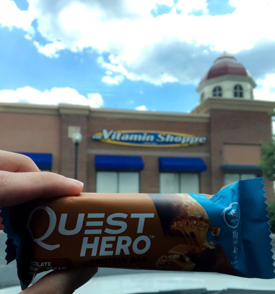 quest hero bar chocolate caramel pecan