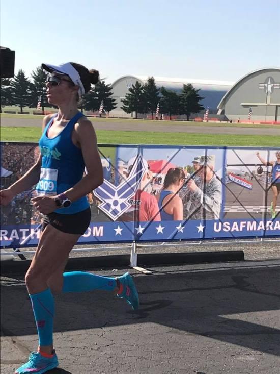 Air force half marathon dayton ohio me running