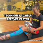 Techniques to Help Running Recovery and to Recover Faster: