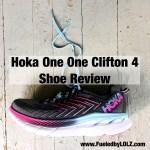 Hoka Clifton 4 Shoe Review