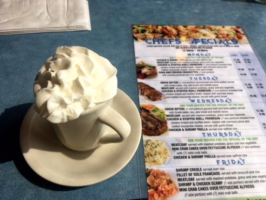 Broadway Diner Baltimore coffee