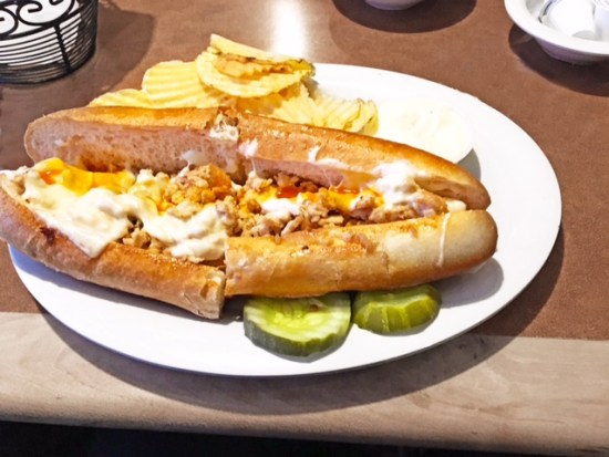 Dino's Seaville Diner cheesesteak