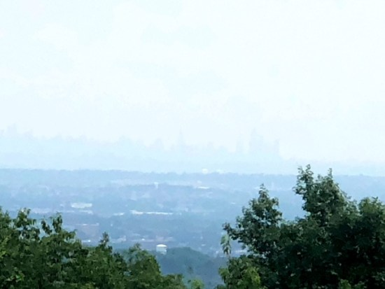 Hiking High Mountain with a View of NYC