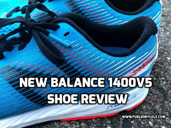 new balance 1400 v5 shoe review