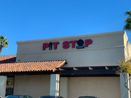 Pit Stop Diner Oceanside California