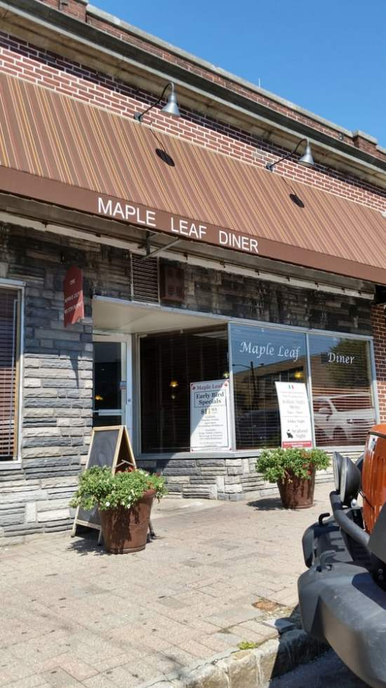 maple leaf diner maplewood