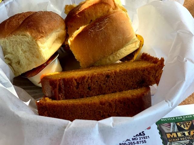 Lyndon Diner (York, PA) pumpkin bread