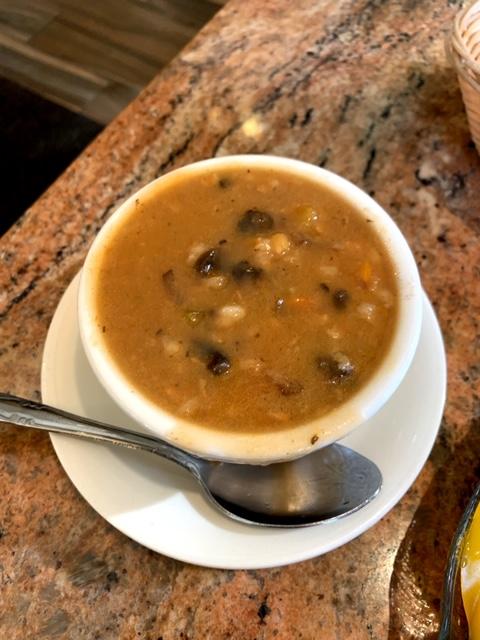 Caldwell Diner NJ soup