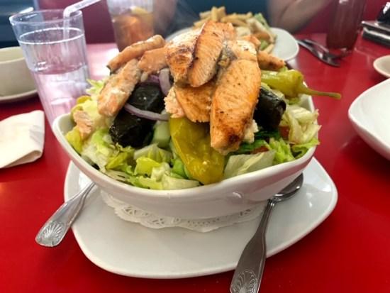 Vicki's Diner Westfield salad