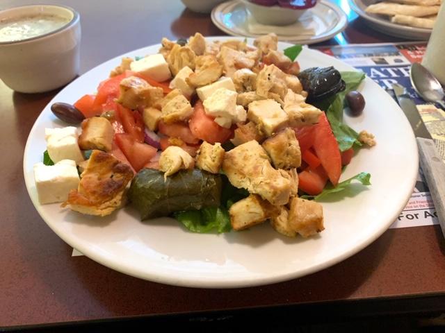 Stargate Diner seaford DE salad