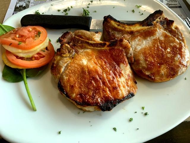 Marlboro Diner pork chops