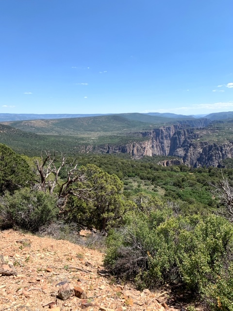 Hiking Green Mountain in Black Canyon (Gunnison National Park)