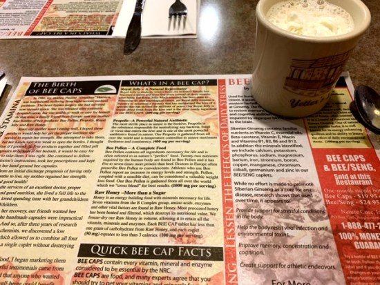 Yetter's Diner coffee