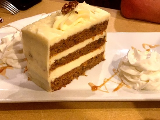 Vincentown Diner carrot cake