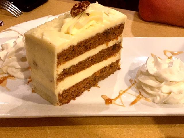 Vincentown Diner carrot cake