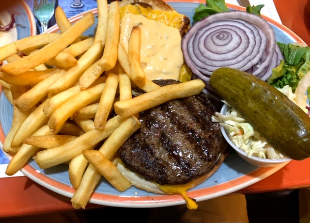 Good stuff diner burger