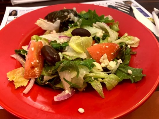 Alps Diner wayne nj greek salad