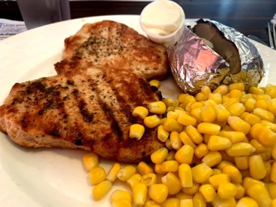 Alps Diner wayne nj pork chops