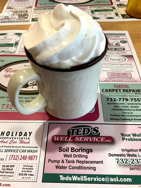 Town and Country Diner Toms River coffee