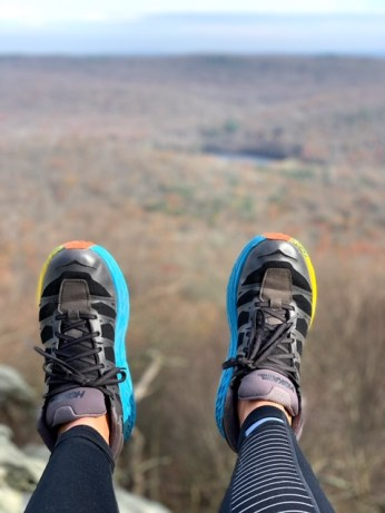 Chimney Rocks Trail via Hermitage and Appalachian National Scenic Trail