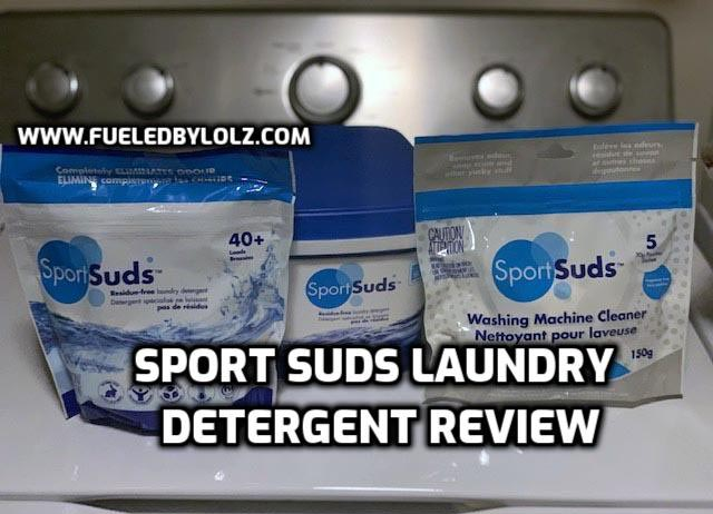 Sport Suds Laundry Detergent Review