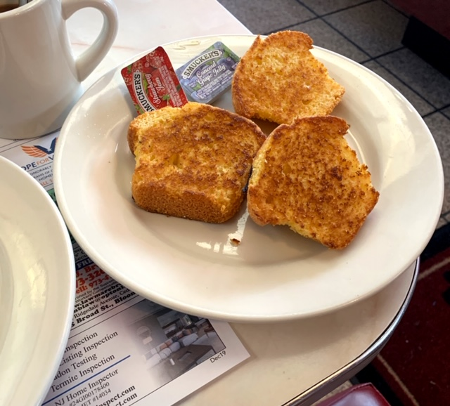 Blairstown Diner corn muffins