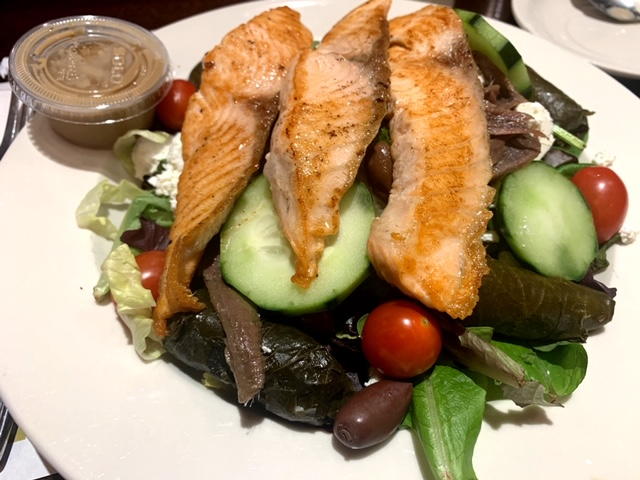 The Coach House Diner (Hackensack) greek salad