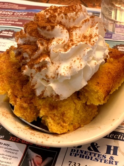 All Seasons Diner II (Freehold, NJ) bread pudding