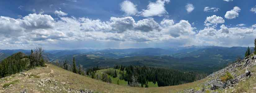Hiking Cinnamon Mountain (Big Sky, Mt)