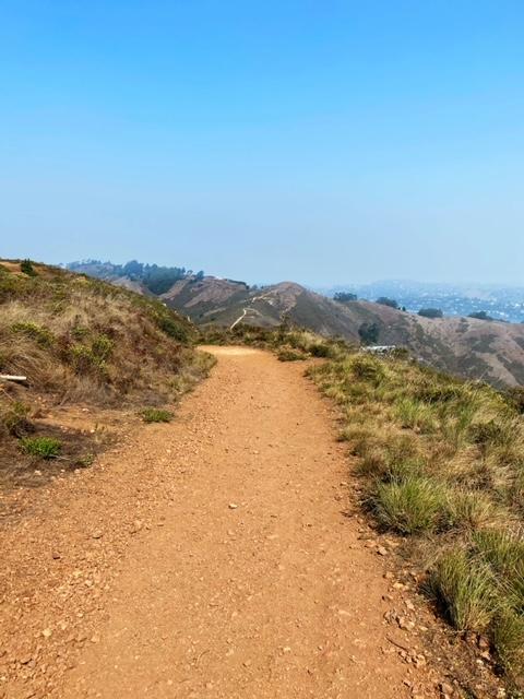 Slacker Hill Trail Marin Headlands