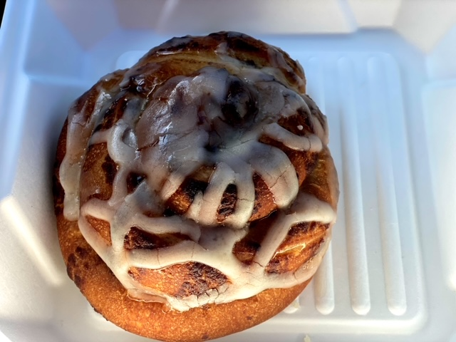 Miracle Mile Cafe (San Rafael) cinnamon rollMiracle Mile Cafe (San Rafael) cinnamon roll