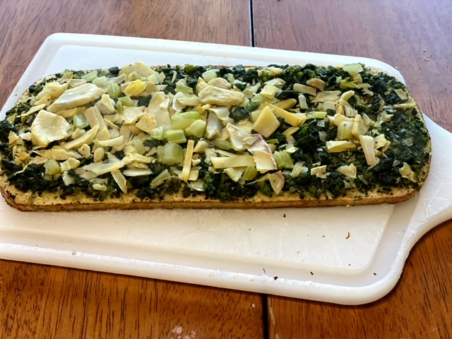 Daily Harvest Review kale flatbread